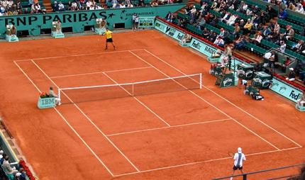 Roland Garros Side Banner MST