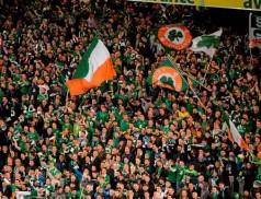 irish fans france