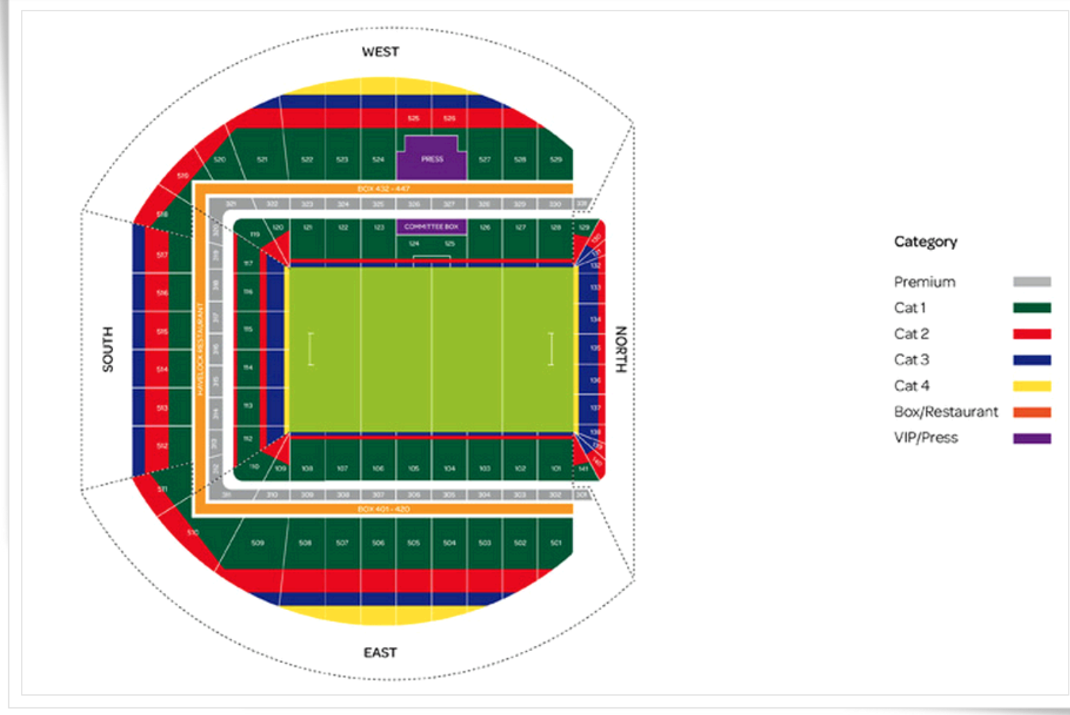 Ireland V New Zealand - Match Day Package